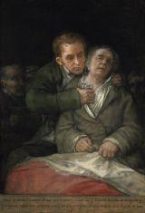 'Goya atendido por el doctor Arrieta' (1820).