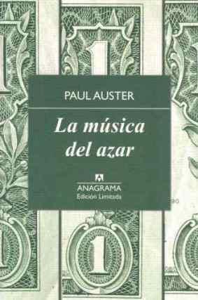 La música del azar, de Paul Auster