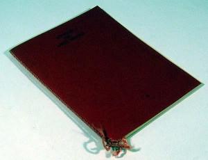 Sonetos del Amor Oscuro, en la primera edición de 250 ejemplares en 1983