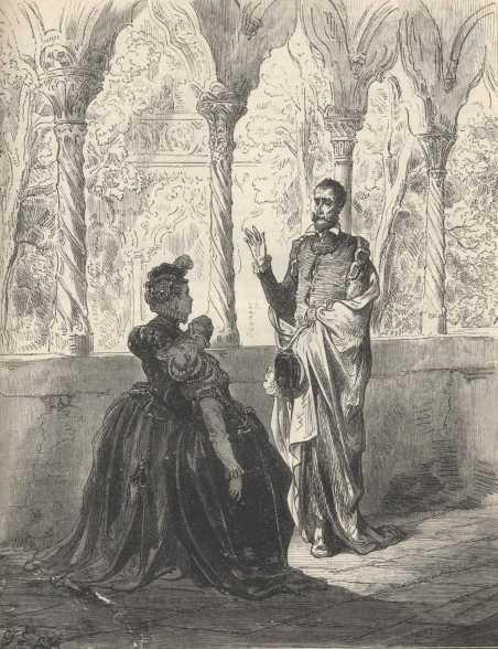 Don Quijote con Altisidora