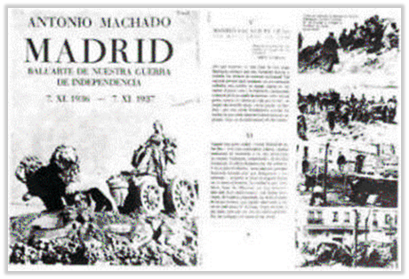 Antonio Machado. madrid baluarte de nuestra independencia