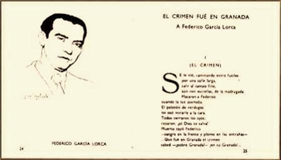 Antonio Machado: El Crimen fue en Granada A la muerte de federico García Lorca