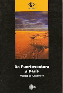 Miguel de Unamuno: De Fuerteventura a París