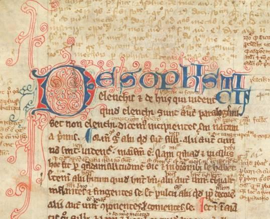 Londres, Biblioteca Británica, Arundel, De Sophisticis, MS 383 (1250-1300)