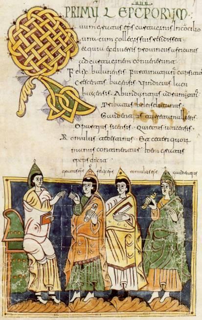 Fig. 9 Perfección: Codex Vigilanus seu Albeldensis. El Escorial, Biblioteca del Monasterio, ED2