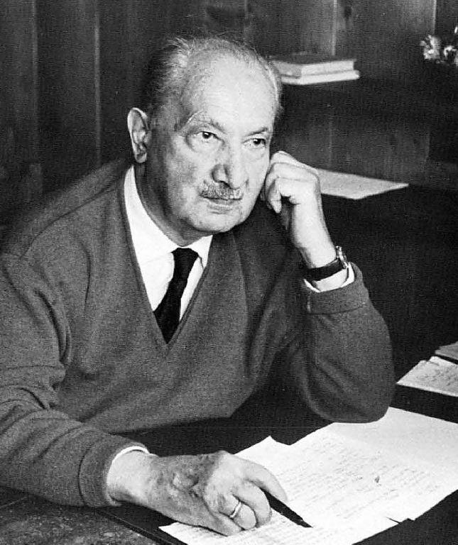 El pensar poetizante de Heidegger