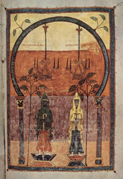 Los dos testigos Beato de Gerona