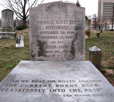 tumba francis scott Fitzgerald y Zelda