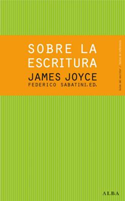 Sobre la escritura, de James Joyce