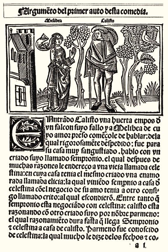 Comedia de Calisto y Melibea 1499